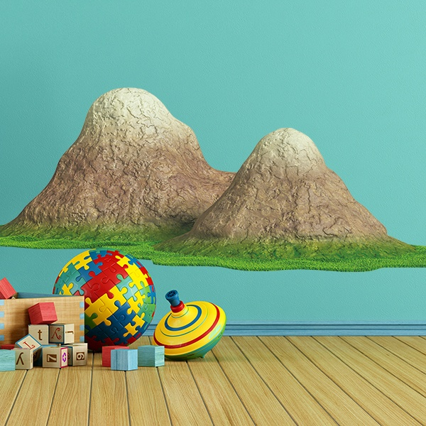 Stickers for Kids: Mountains