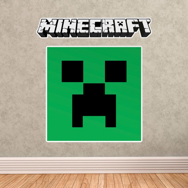 Wall Stickers: Minecraft logo