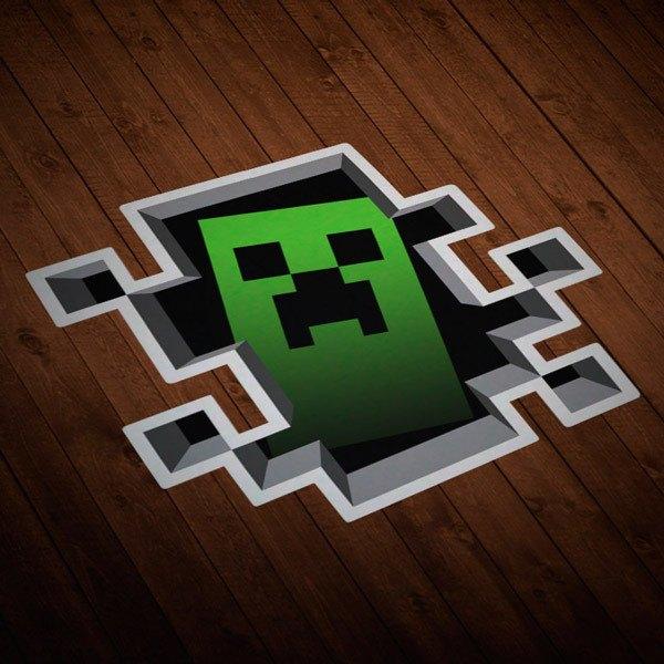 Wall Stickers: Sticker Minecraft Crepper