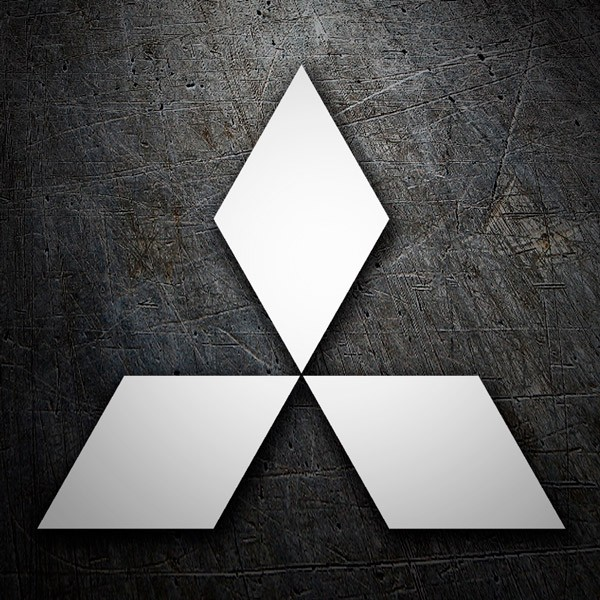 Car and Motorbike Stickers: Mitsubishi logo 2