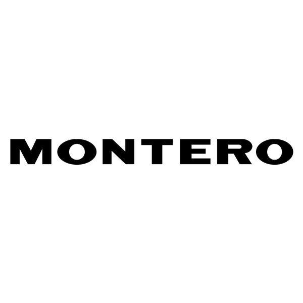 Car and Motorbike Stickers: Montero