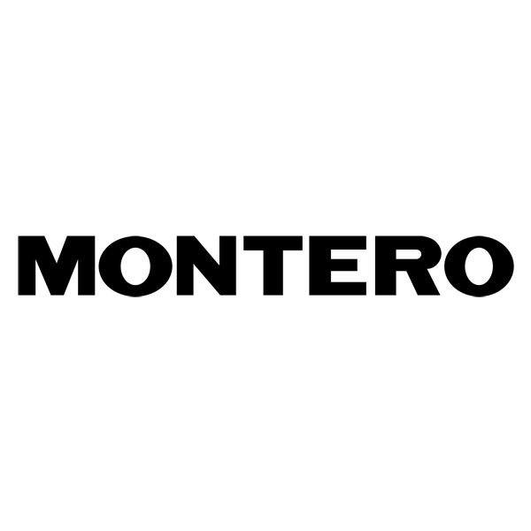 Car and Motorbike Stickers: Montero 2