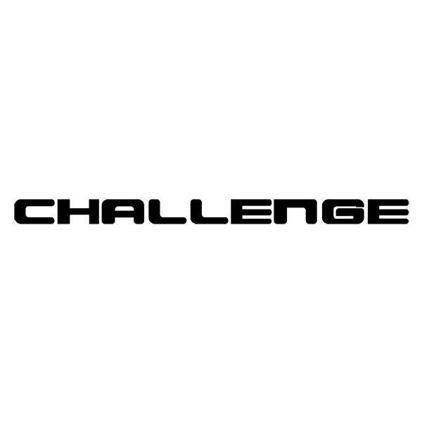 Car and Motorbike Stickers: Challenge
