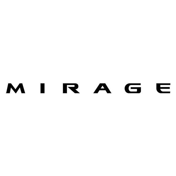 Car and Motorbike Stickers: MIrage