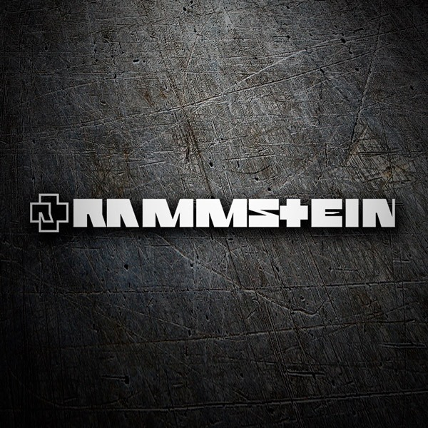 Car and Motorbike Stickers: Rammstein