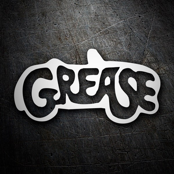 Car and Motorbike Stickers: Grease