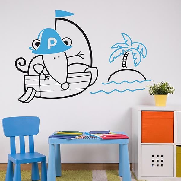 Stickers for Kids: Multicolour Pirate 1
