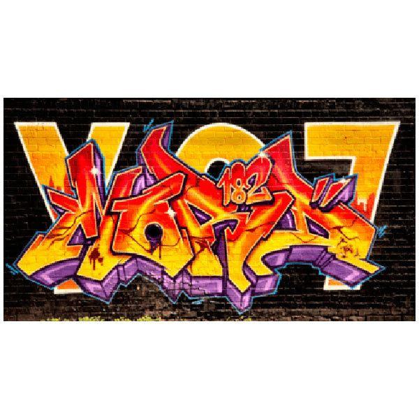 Wall Stickers: Grafitti