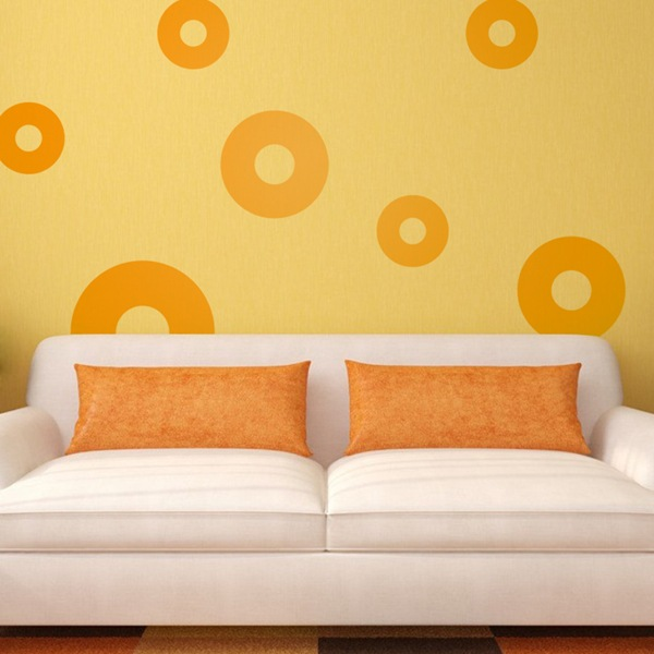 Wall Stickers: Kit 7 circles I