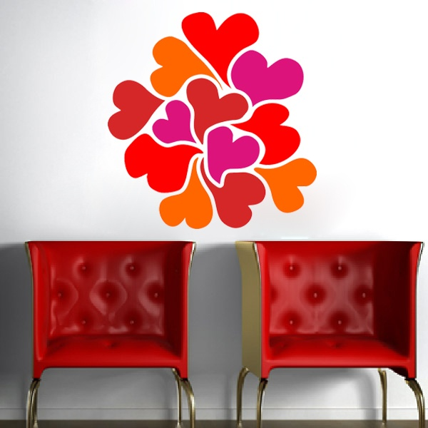 Wall Stickers: Hearts