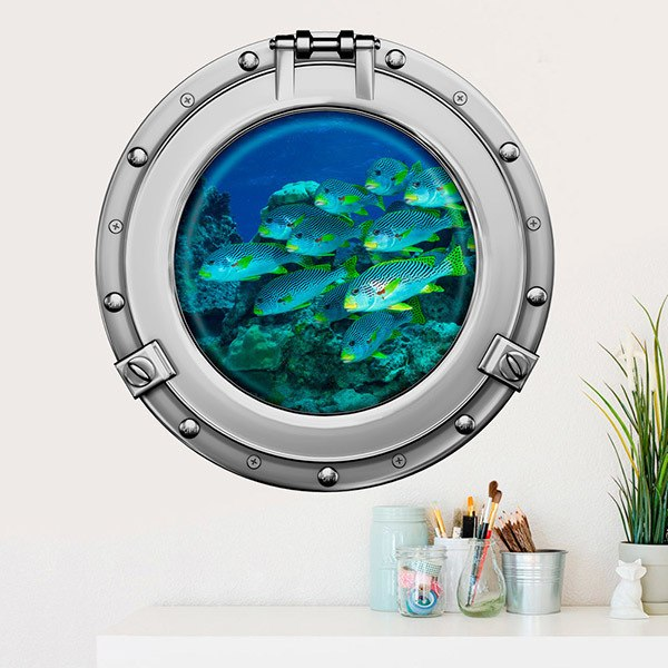 Wall Stickers: Fish bank 1