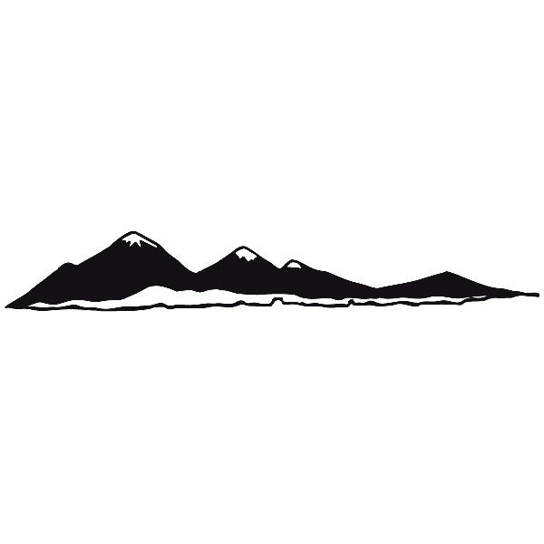 Car and Motorbike Stickers: Landscape 5