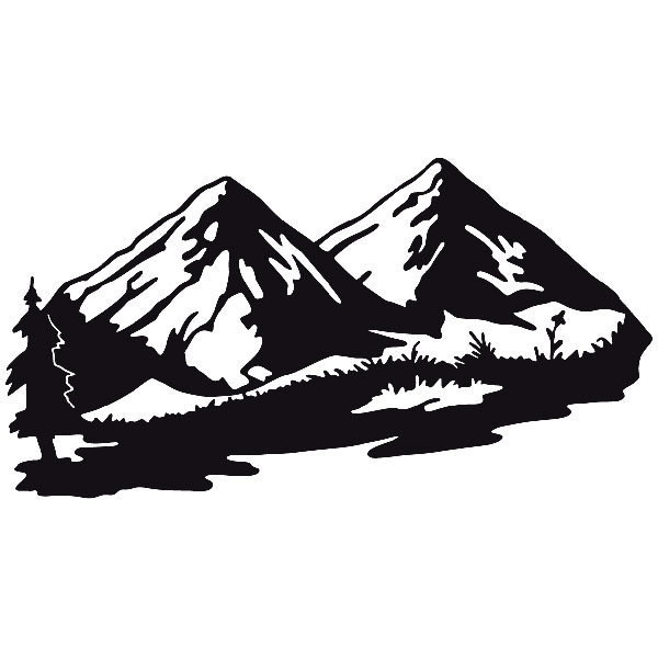 Car and Motorbike Stickers: Landscape 7
