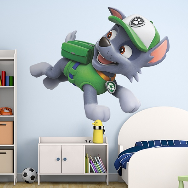 paw patrol wall stickers for kids. Black Bedroom Furniture Sets. Home Design Ideas