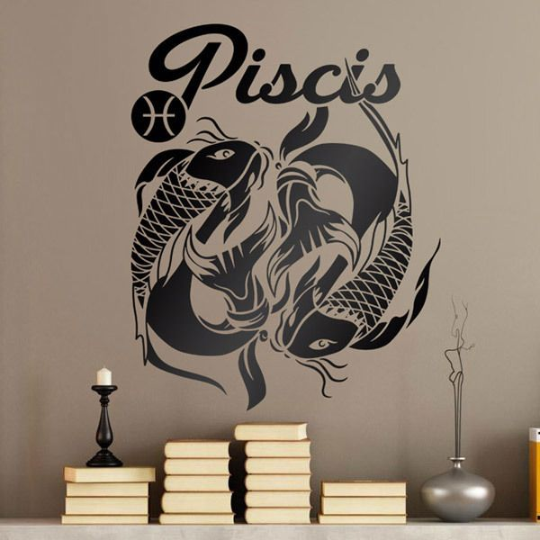 Wall Stickers: zodiaco 40 (Piscis)
