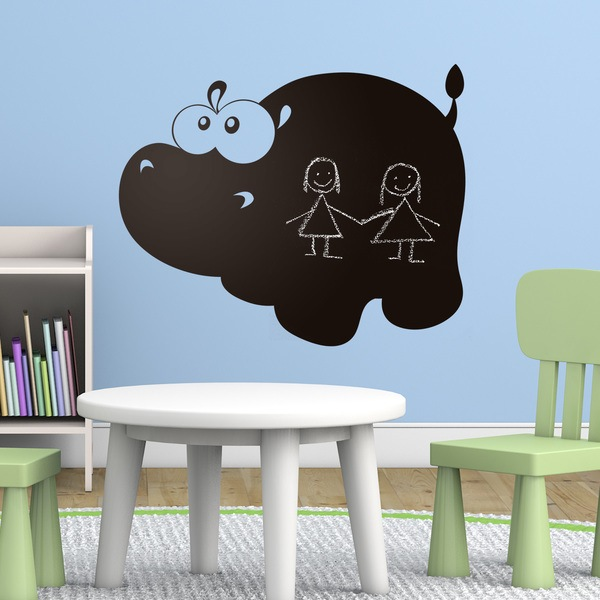 Stickers for Kids: Hippo