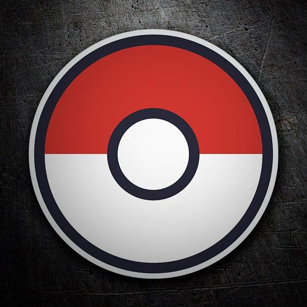 Wall Stickers: Pokeball - Pokémon Go