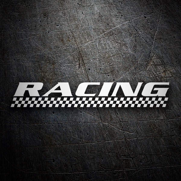 Car and Motorbike Stickers: racing5