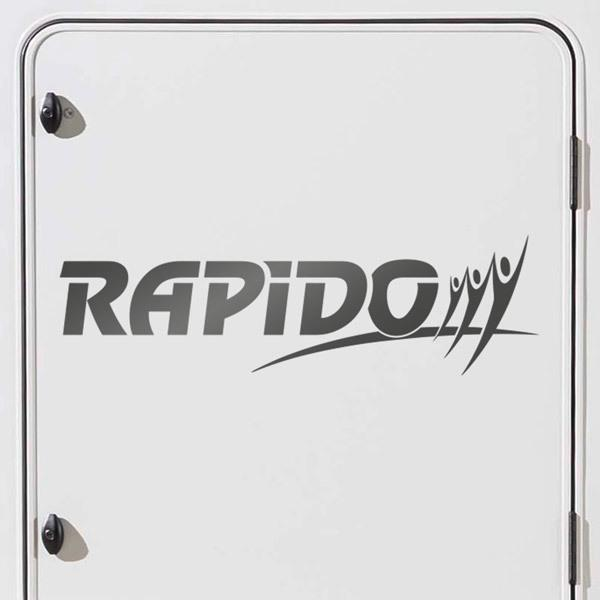 Car and Motorbike Stickers: Rapido 1