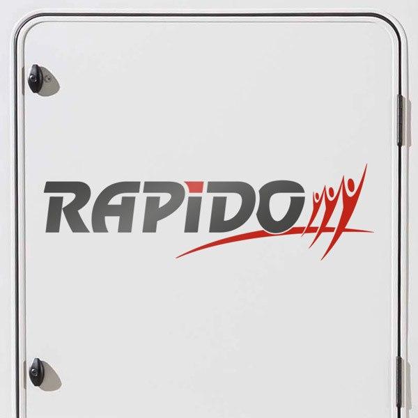 Car and Motorbike Stickers: Rapido 2