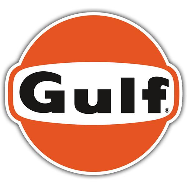 Car and Motorbike Stickers: Gulf 2