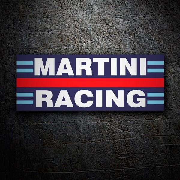 Car and Motorbike Stickers: Martini racing