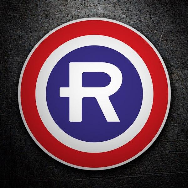 Car and Motorbike Stickers: Retro