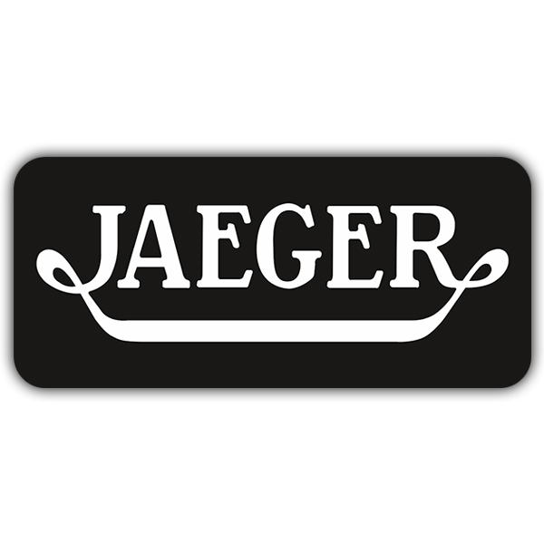 Car and Motorbike Stickers: Jaeger