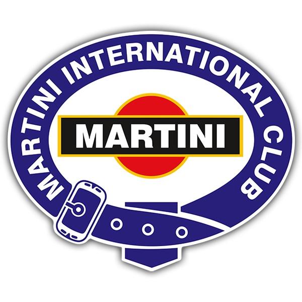 Car and Motorbike Stickers: Martini international club