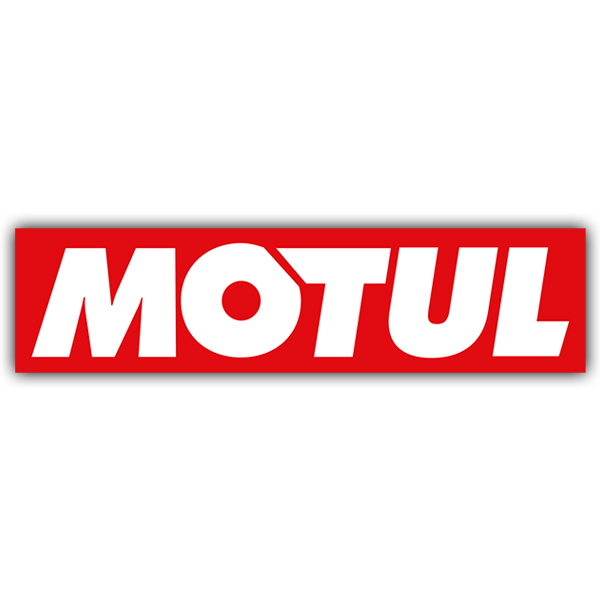 Car and Motorbike Stickers: Motul