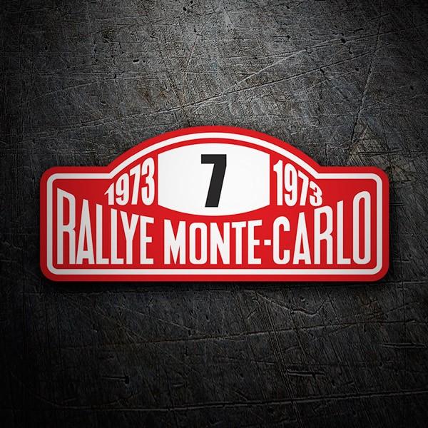 Car and Motorbike Stickers: Rallye Monte-Carlo