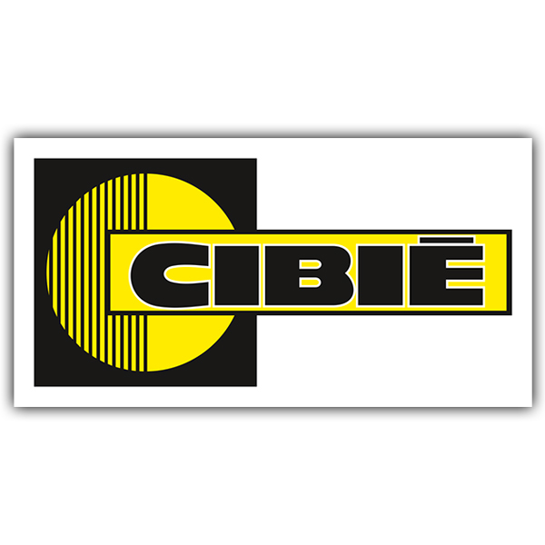 Car and Motorbike Stickers: Cibie 2