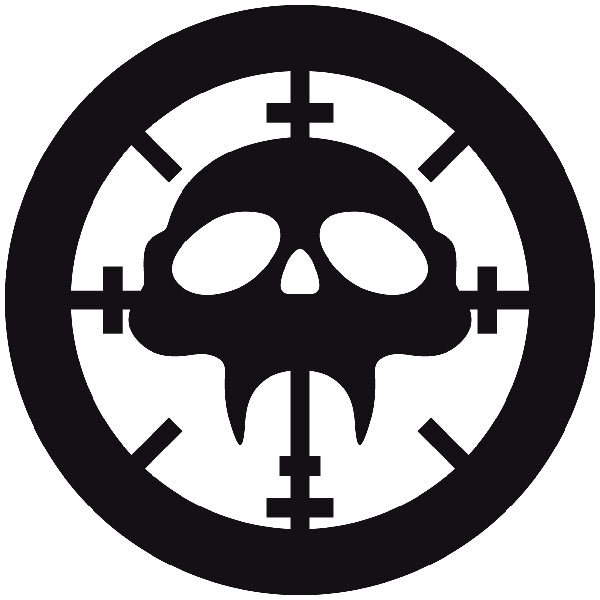 Car and Motorbike Stickers: Skull 83