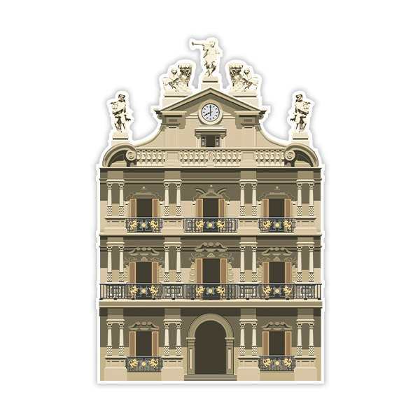 Wall Stickers: Pamplona City Council