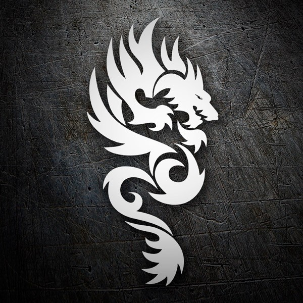 Car and Motorbike Stickers: Dragones