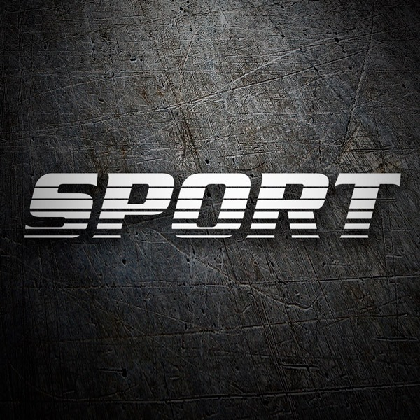 Car and Motorbike Stickers: Sport17