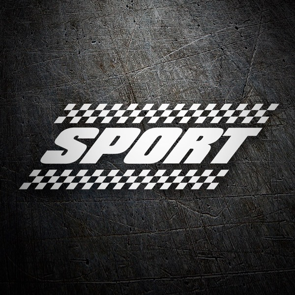 Car and Motorbike Stickers: Sport18
