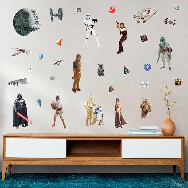 Wall Stickers: Star Wars Classic Wall Stickers