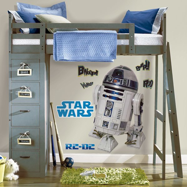 Wall Stickers: Life-size R2D2 Wall Stickers