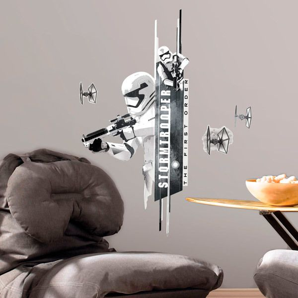 Wall Stickers: The Force Awakens - Storm Tropper
