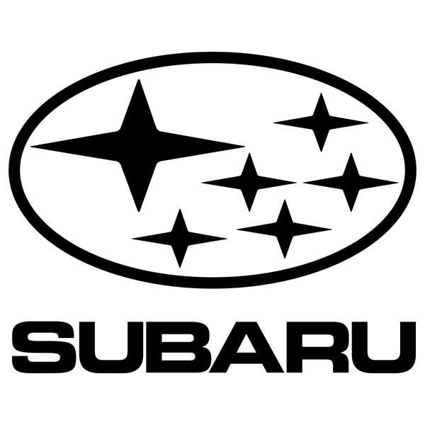 Car and Motorbike Stickers: Subaru