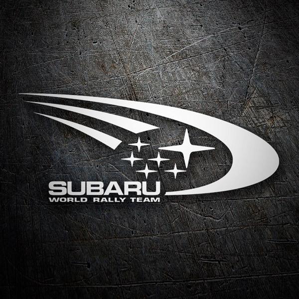 Car and Motorbike Stickers: Subaru Rally