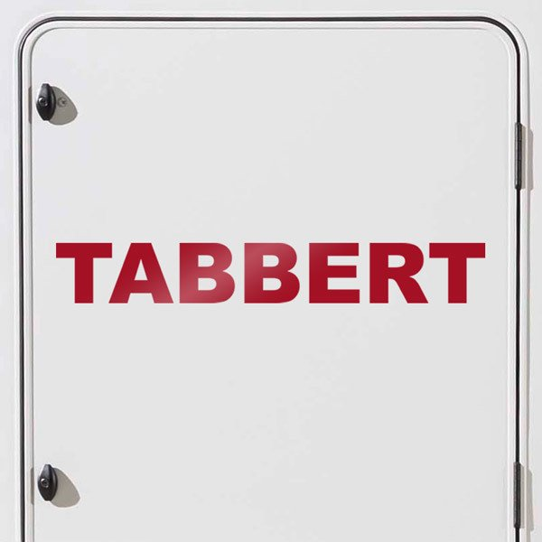Car and Motorbike Stickers: Tabbert 2