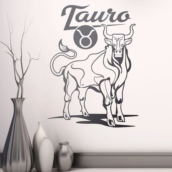 Wall Stickers: zodiaco 12 (Tauro)