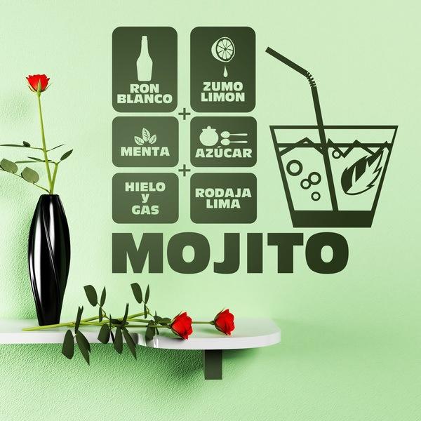 Wall Stickers: Cocktail Mojito