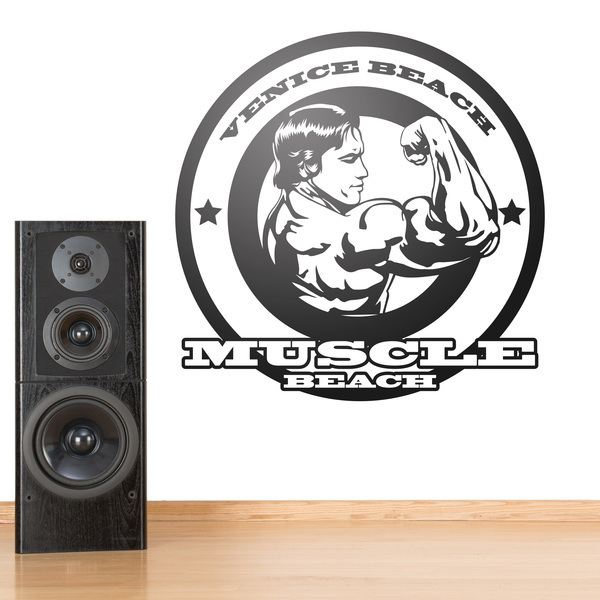 Wall Stickers: Arnold Muscle