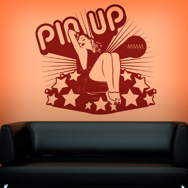 Wall Stickers: Pin Up Girl
