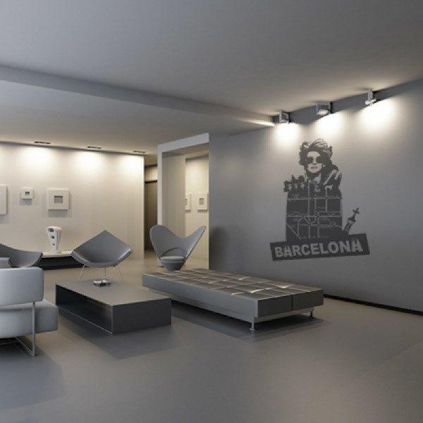 Wall Stickers: Barcelona