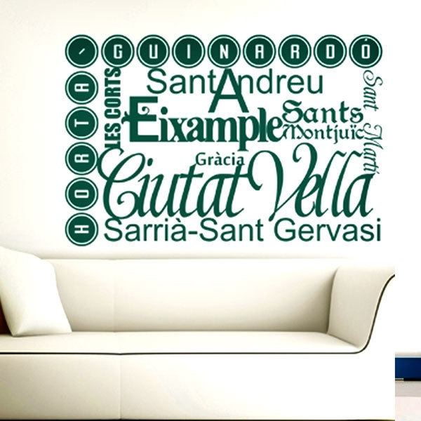 Wall Stickers: Barcelona es Bona