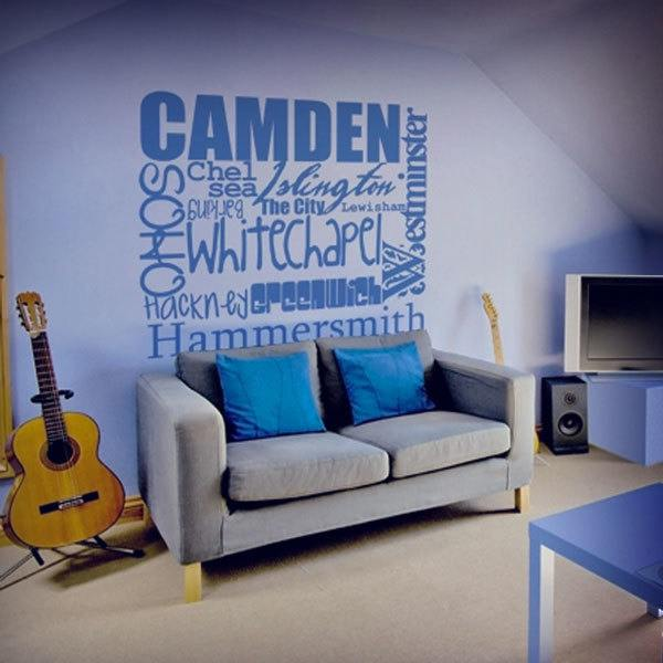 Wall Stickers: London Calling